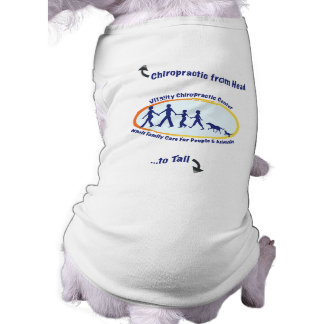 Chiropractic from Head to Tail Dog Tee
