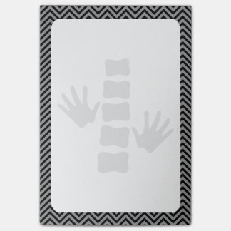 Chiropractic Hands and Spine Logo  Post-it® Notes