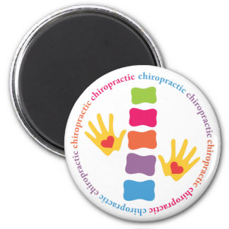Chiropractic Hands and Spine Magnet