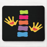 Chiropractic Hands and Spine Mousepad