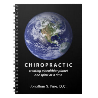 Chiropractic Healthier Planet Notebook