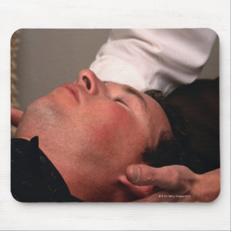 Chiropractic Manipulation Mouse Pad