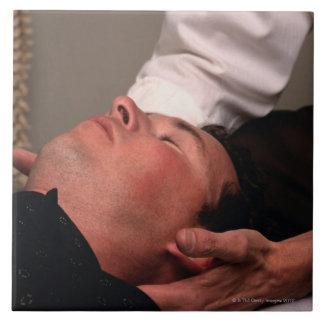 Chiropractic Manipulation Large Square Tile