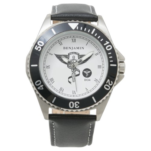 Chiropractic Medicine Personalized Name Watch