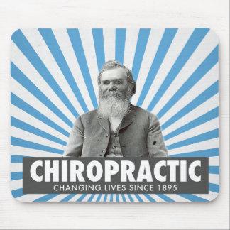 Chiropractic mousepad - D.D. Palmer