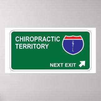 Chiropractic Next Exit Posters