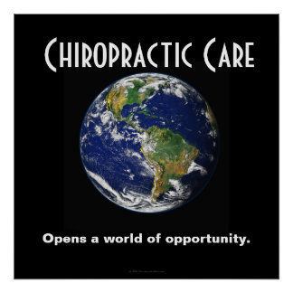 Chiropractic Poster: Opens A World of Opportunity Poster