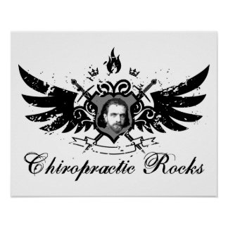 Chiropractic Rocks Poster
