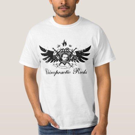 Chiropractic Rocks T-Shirt