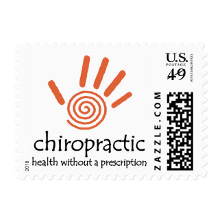 Chiropractic Rx (Orange) Postage