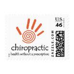 Chiropractic Rx (Orange) Postage