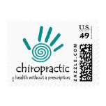 Chiropractic Rx (Teal) Postage
