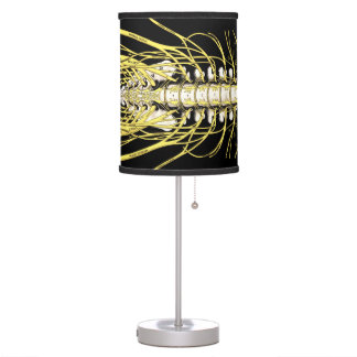Chiropractic Spinal Nerves Table Lamps