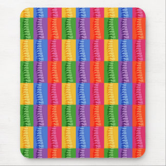Chiropractic Spine Pop Art Mousepad
