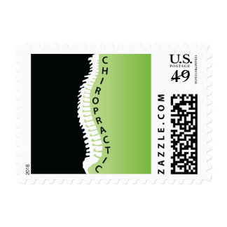 Chiropractic Spine Postage