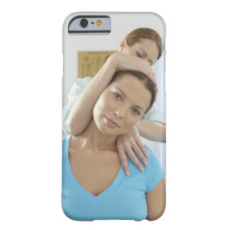 Chiropractic treatment. Chiropractor treating Barely There iPhone 6 Case