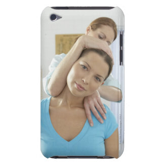 Chiropractic treatment. Chiropractor treating Barely There iPod Cover