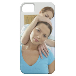 Chiropractic treatment. Chiropractor treating iPhone SE/5/5s Case