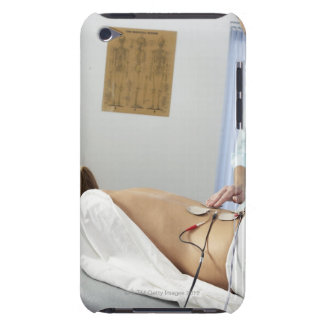 Chiropractic treatment. complaint in her barely there iPod cover
