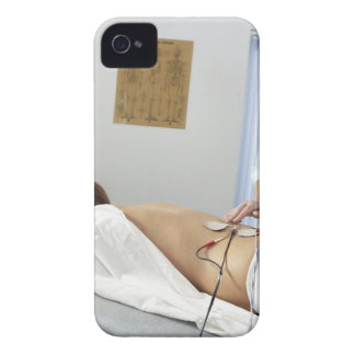 Chiropractic treatment. complaint in her iPhone 4 Case-Mate cases