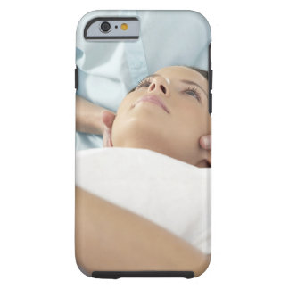 Chiropractic treatment of the neck using the tough iPhone 6 case