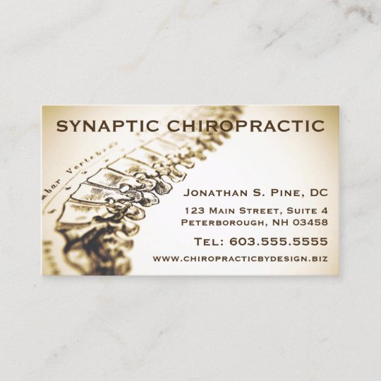 chiropractor appointment cards - Appointment Cards