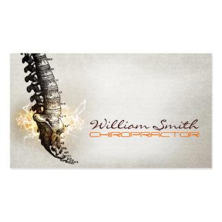 Chiropractor Business Card Tarjetas De Visita