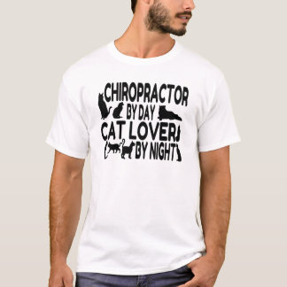 Chiropractor Cat Lover T-Shirt