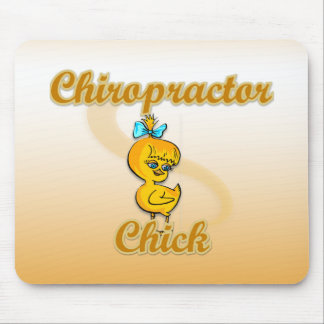 Chiropractor Chick Mousepads