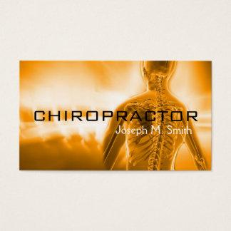 Chiropractor, Chiropractic, Health Business Card