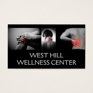 Chiropractor Chiropractic Health Business Card