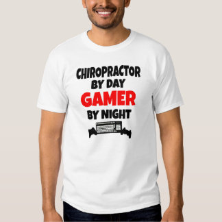 Chiropractor del videojugador remera