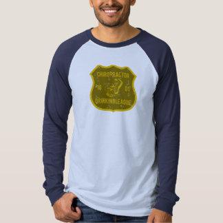 Chiropractor Drinking League T Shirt