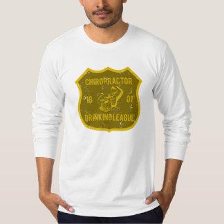 Chiropractor Drinking League Tee Shirt