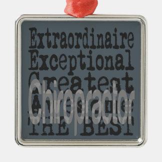 Chiropractor Extraordinaire Metal Ornament