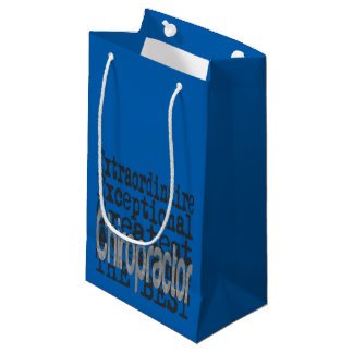 Chiropractor Extraordinaire Small Gift Bag