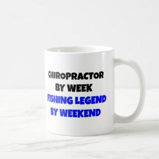 Chiropractor Fishing Legend Classic White Coffee Mug