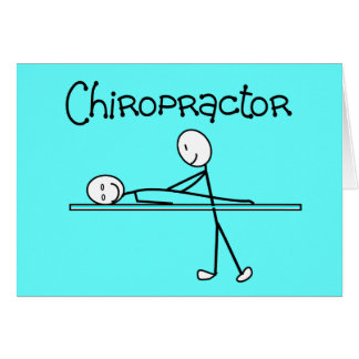 Chiropractor Gifts Greeting Card