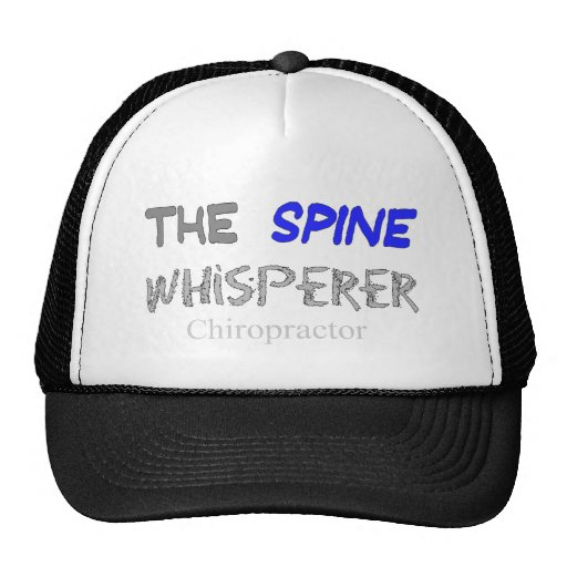 "Chiropractor Gifts ""The Spine Whisperer"" Trucker Hat"