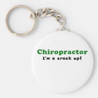 Chiropractor Im a Crack Up Keychain