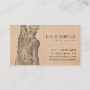 Massage therapy business cards templates zazzle chiropractor massage therapy vintage appointment flashek Choice Image