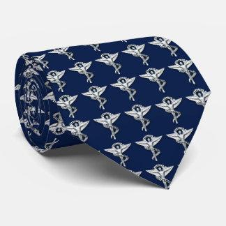 Chiropractor metálico del emblema de la corbata