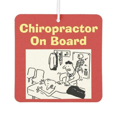 Chiropractor On Board Air Freshener