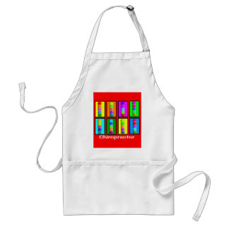 Chiropractor Popart  Gifts Adult Apron
