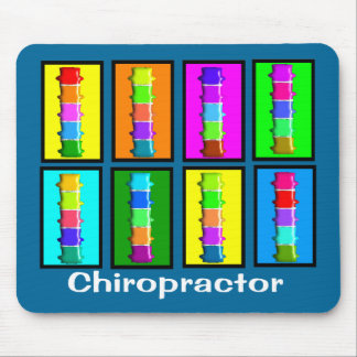 Chiropractor Popart  Gifts Mouse Pad