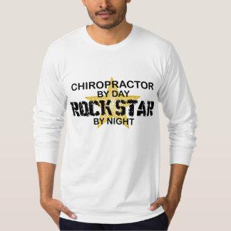 Chiropractor Rock Star by Night Shirt