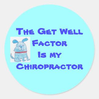 chiropractor sticker