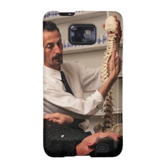 Chiropractor y paciente