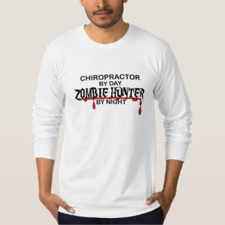 Chiropractor Zombie Hunter T-shirt