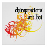 Chiropractors Are Hot Poster